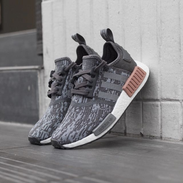 ab7a1f389a8fe Adidas SNEAKERS NMD R1 W Size 11US GRIGIO-CIPRIA BY9647