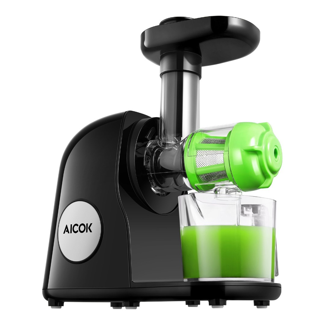 Aicok Juicer Slow Masticating Juicer Extractor Cold Press Juicer