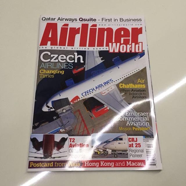 AIRLINER WORLD AVIATION MAGAZINE DECEMBER 2017