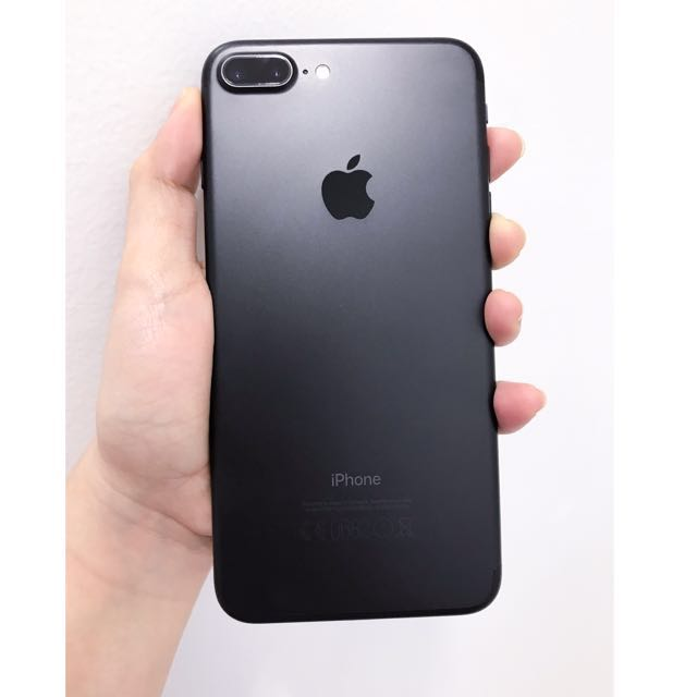 APPLE IPHONE 7 PLUS 256GB MATTE BLACK (with BRAND NEW ACCESSORIES)