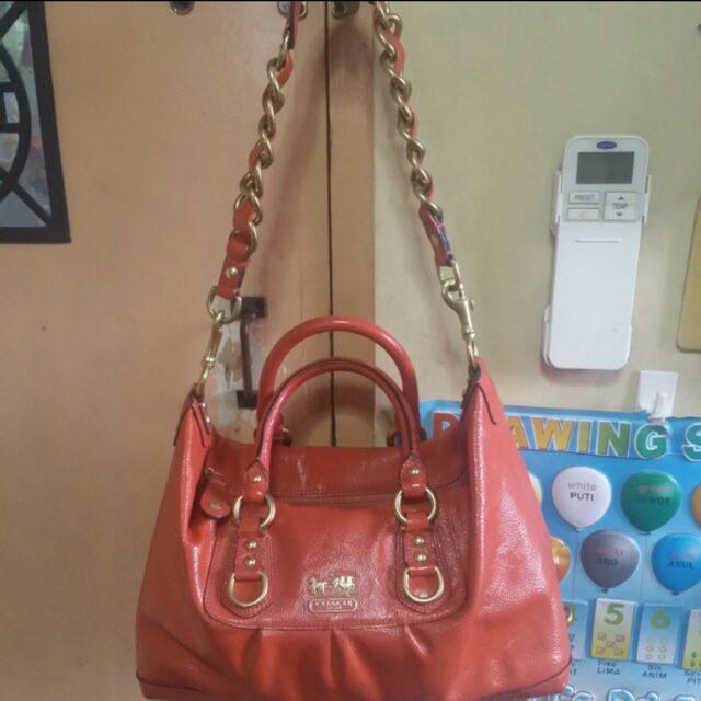 Authentic Coach Two Way Bag Free Shipping