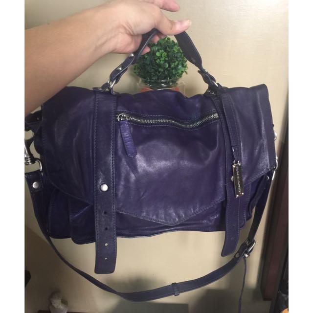 Authentic Rabeanco Reportorial Genuine Leather Bag