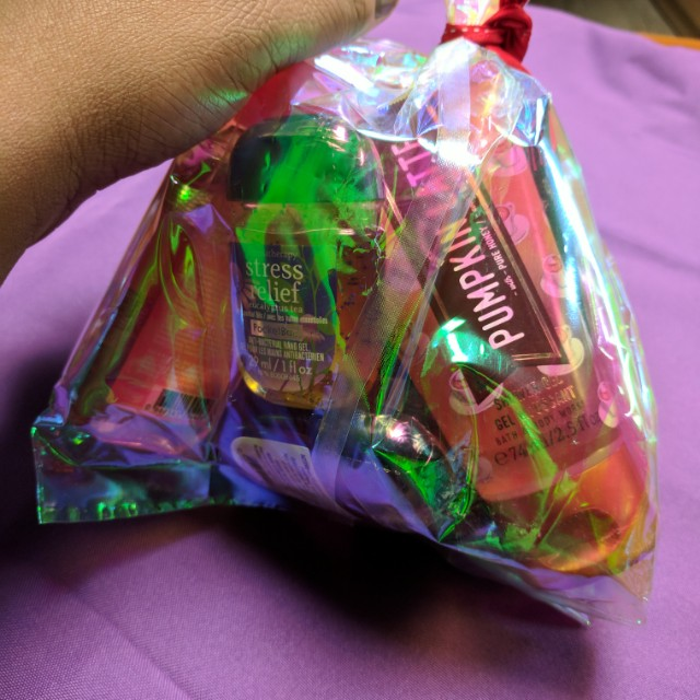 Bath and body works 9 piece  set 30.00
