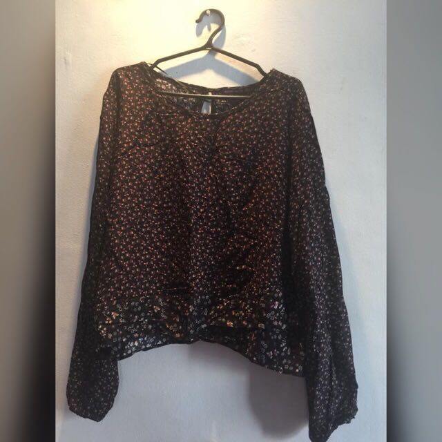 Bershka longsleeves top