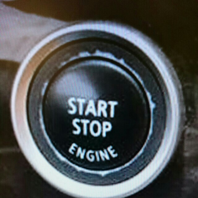 BMW start button key ring, Car Accessories on Carousell