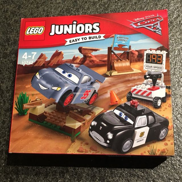 Bn Lego Juniors Cars 3 Willy S Butte Speed Training Babies Kids