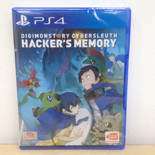 (Brand New) PS4 Digimon Story Cyber Sleuth: Hacker's Memory / R3