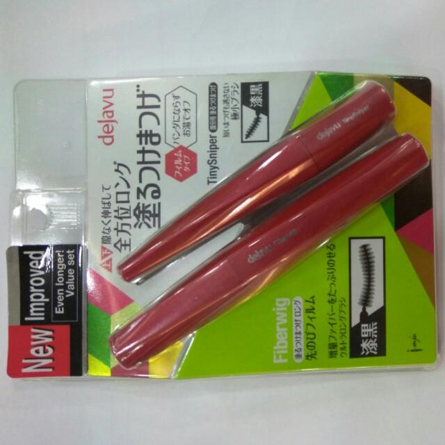 cb82741b7ff Buy 1 Free 1 Dejavu Fiberwig Ultra Long Mascara + Tiny Sniper ...
