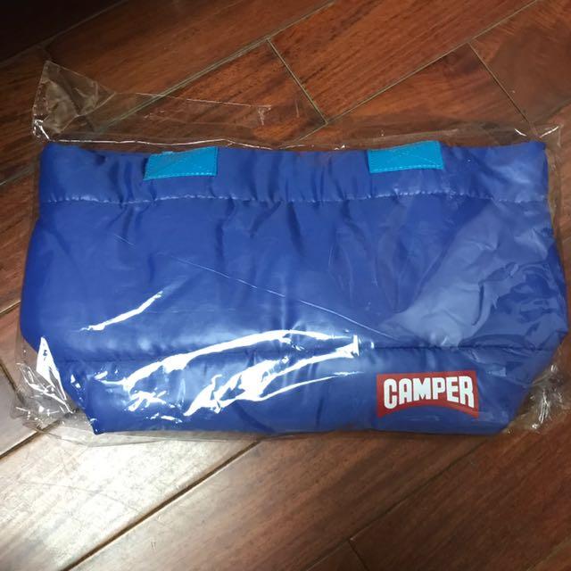 Camper手提藍色空氣包