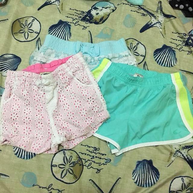 Carter's/Disney/Cherokee Shorts Bundle