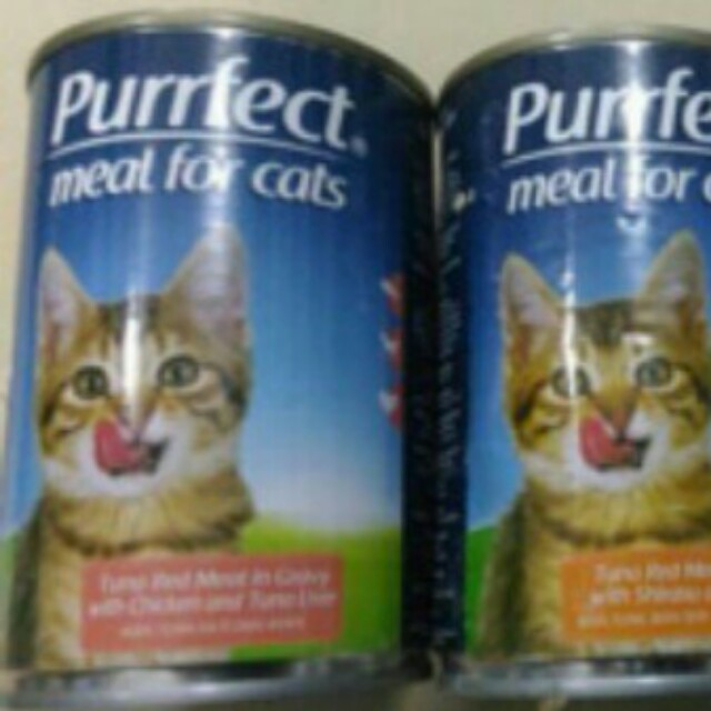 Cat food purrect