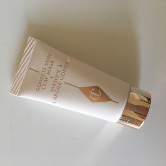 Charlotte Tilbury clay mask travel size