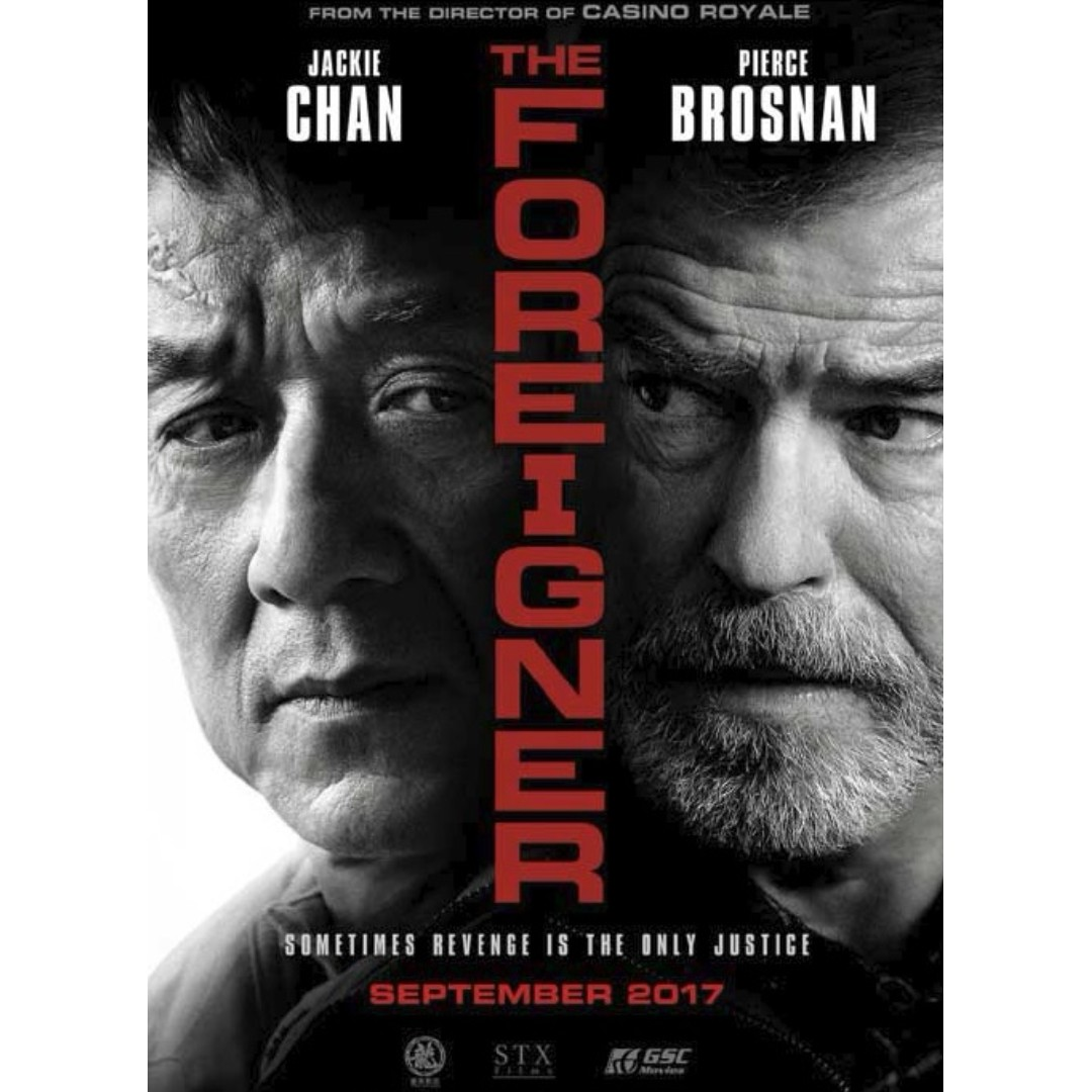 Chinese Movie The Foreigner Jackie Chan Pierce Brosnan Dvd Music Media Cd S Dvd S Other Media On Carousell