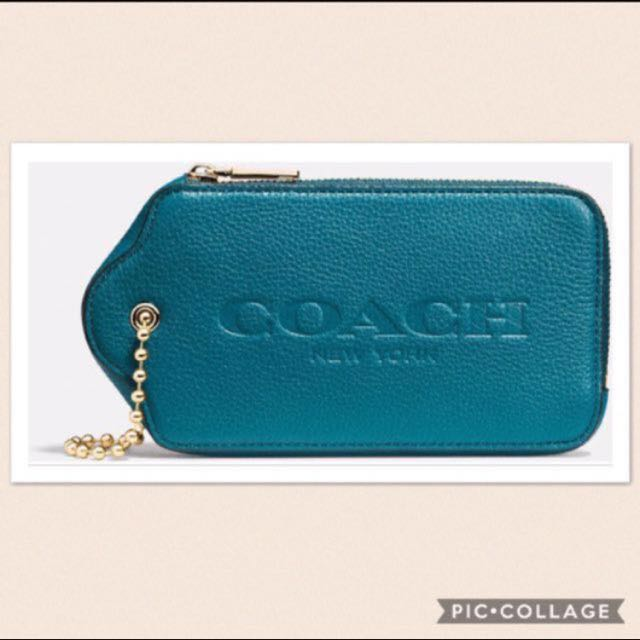 Coach Hangtag Multifunction Case