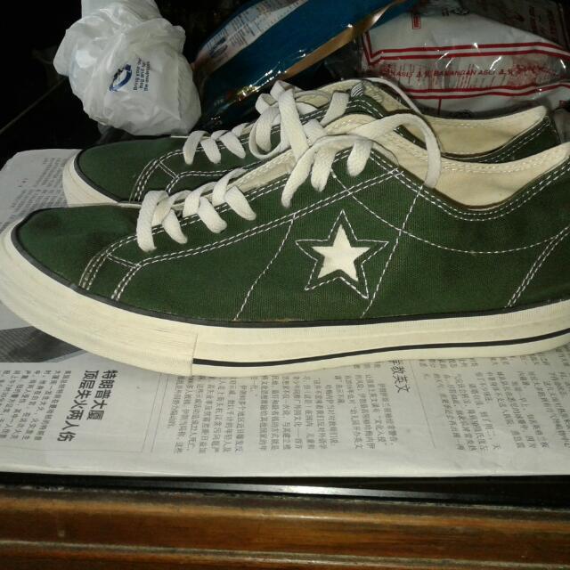 Converse One Star Canvas Green, Men's