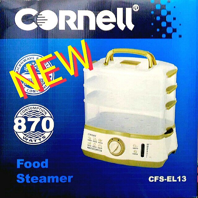 CORNELL 3-TIER  ELECTRIC FOOD STEAMER