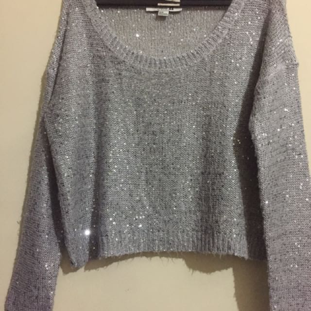 Crop sweater by Forever21