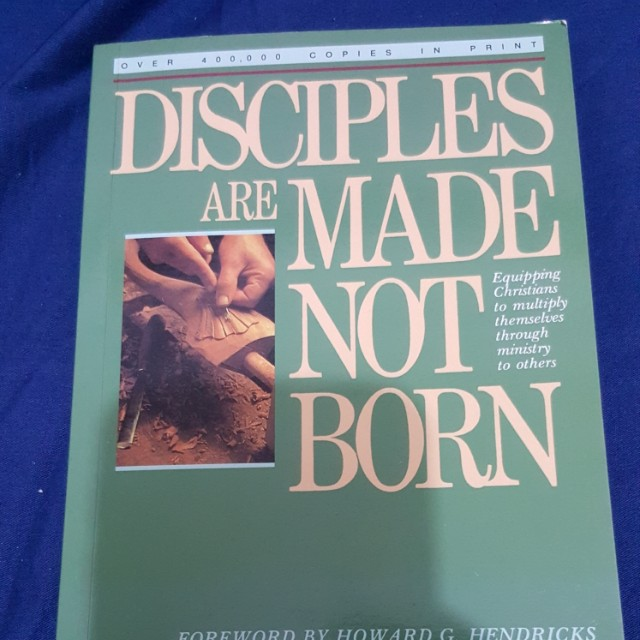 Disciples Are Made Not Born By Walter A Henrichsen Vintage