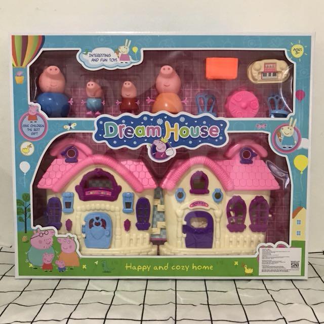 Dream House Peppa Pig (Rumah rumahan peppa pig)