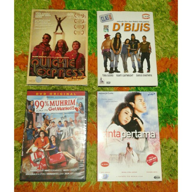 DVD & VCD original indonesia