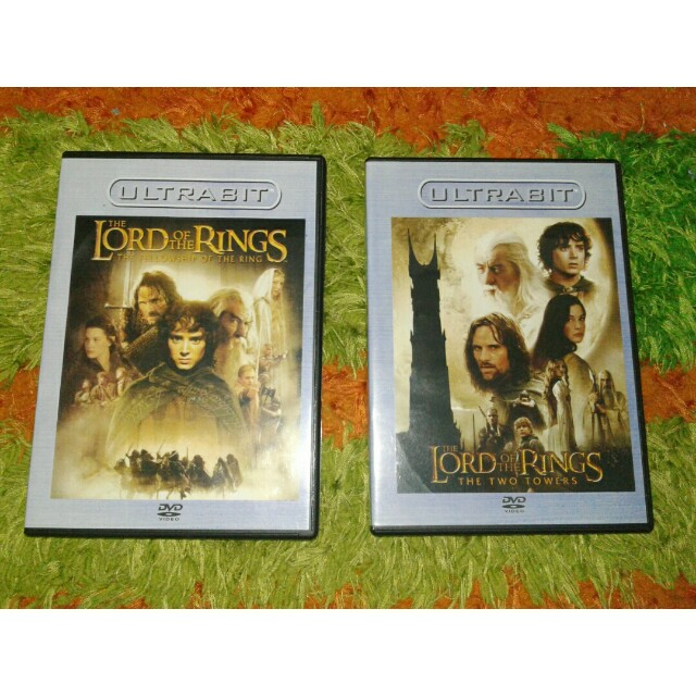 DVD original lord of the ring