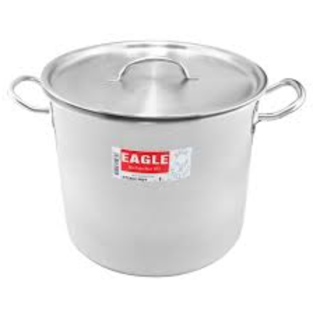 EAGLE Stainless Steel 24cm Stock Pot with Capsulated Bottom (Limited Edition)