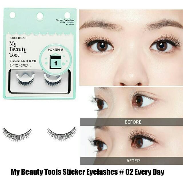 Etude House My Beauty Tools Sticker Eyelashes