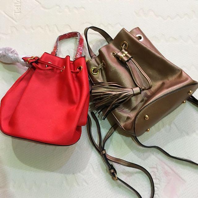Fashion Bucket Backpack