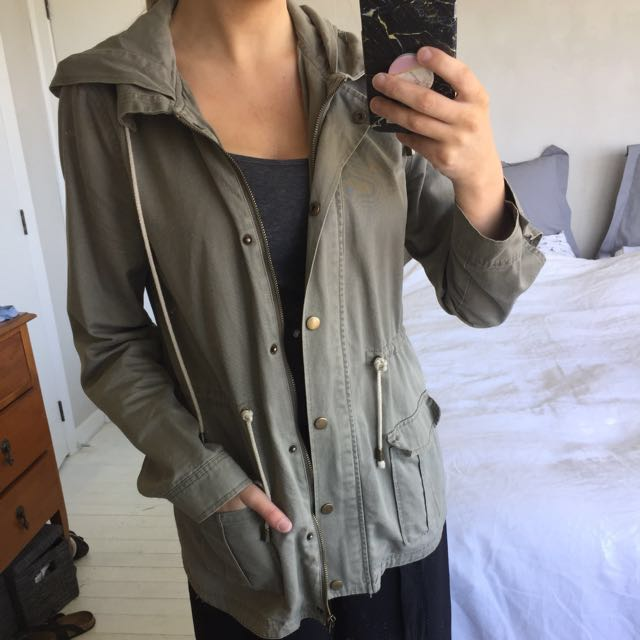 Fashion parka jacket from Dotti. Have had it a while but is in a good condition