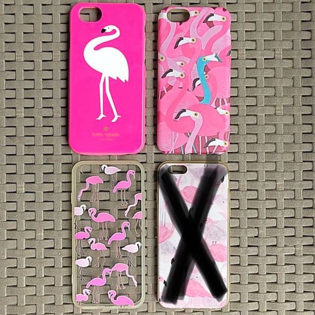 Flamingo iPhone 6/6s cases (Get all 3 for 100!)