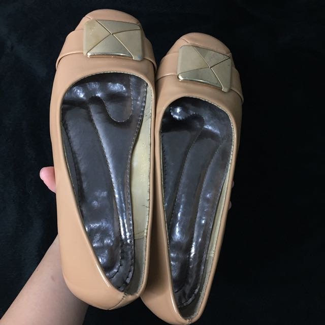 Flatshoes Mocca Glossy
