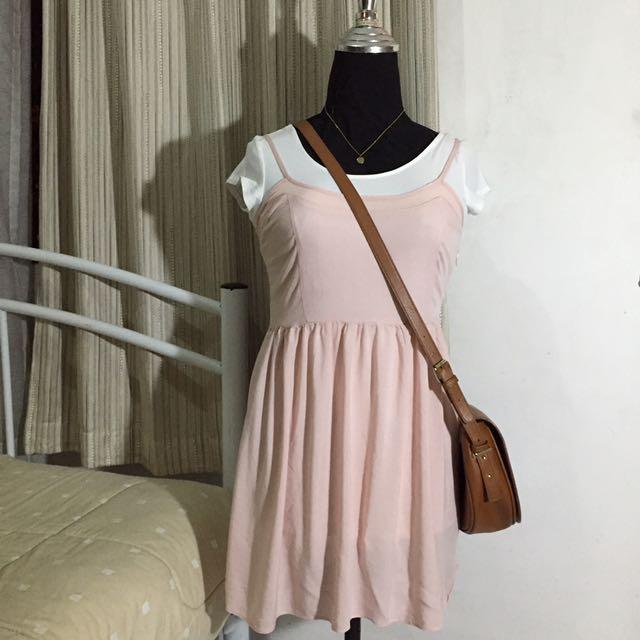 Forever 21 Pink Dress Brand New