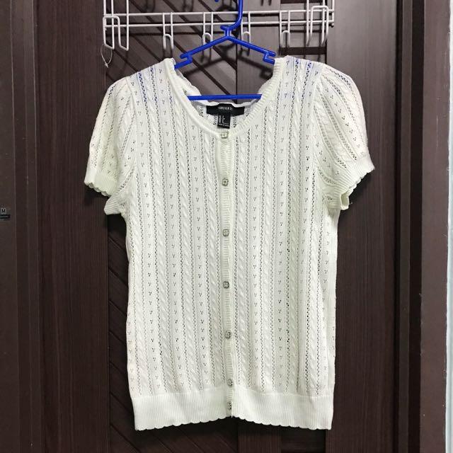 Forever 21 Short Sleeves Knit Cardigan