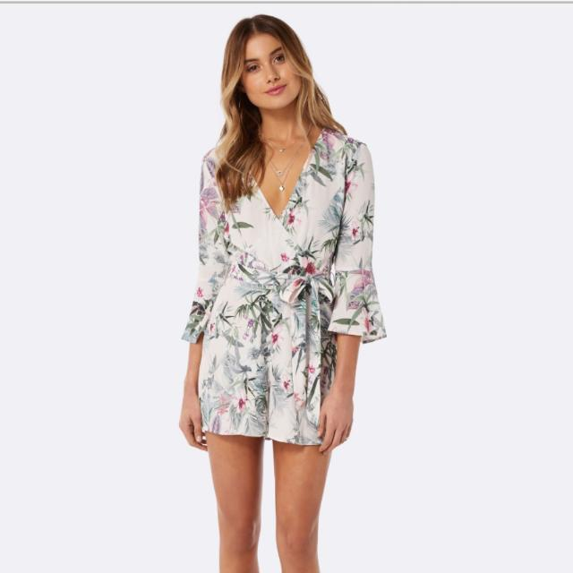 Forevernew Veronica Cross Front Playsuit