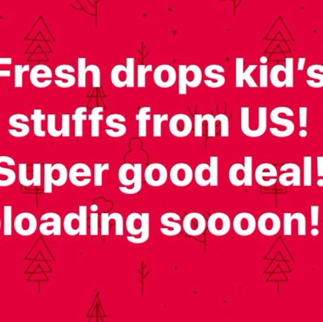 Fresh Drops for the kiddos 👶! Stay tuned! 😊