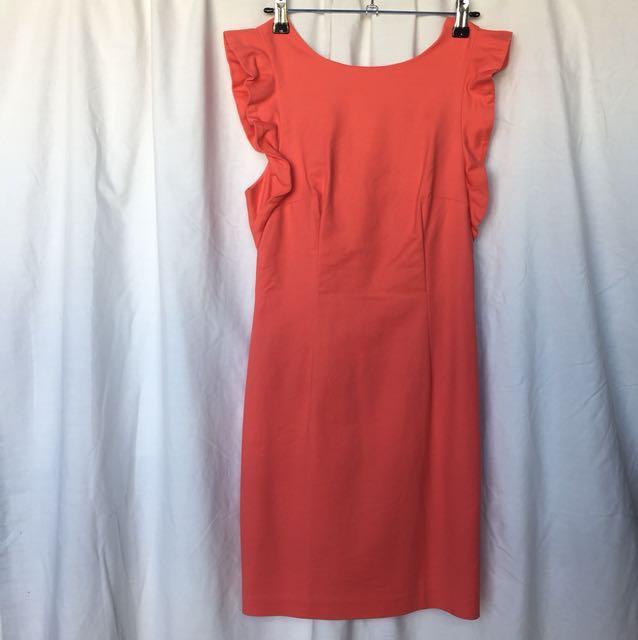 Frill Sleeve corporate Dress