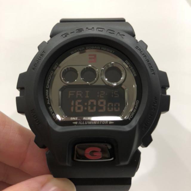 GD-X6900MNM-1  G-SHOCK X EMINEM 兩大街頭王者的聯名錶款