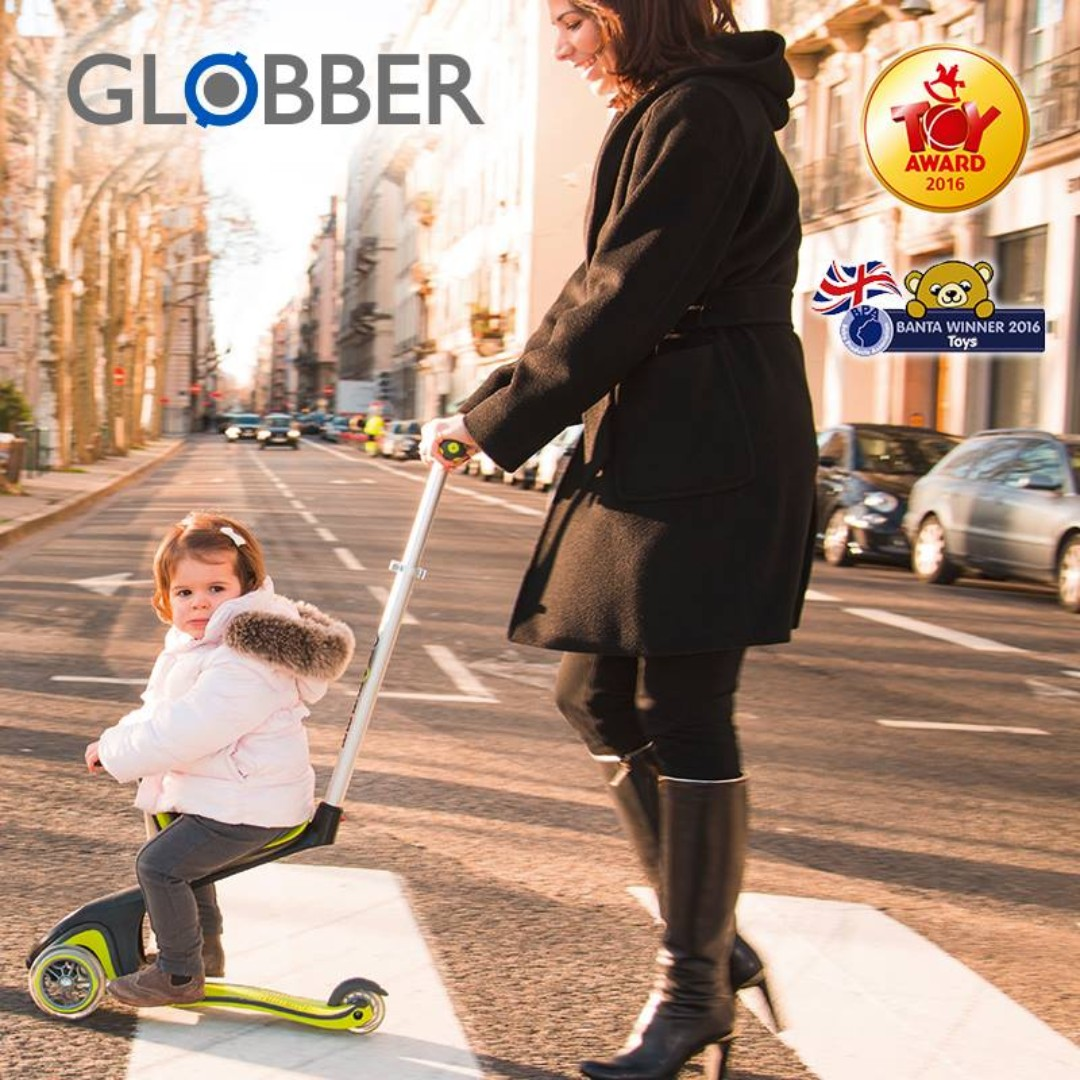 Globber EVO 4 in 1 Kids Scooter