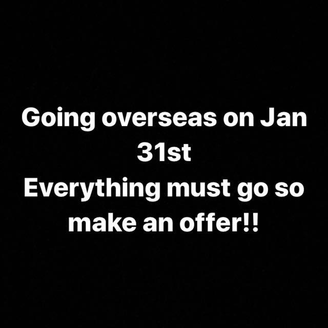 GOING OVERSEAS