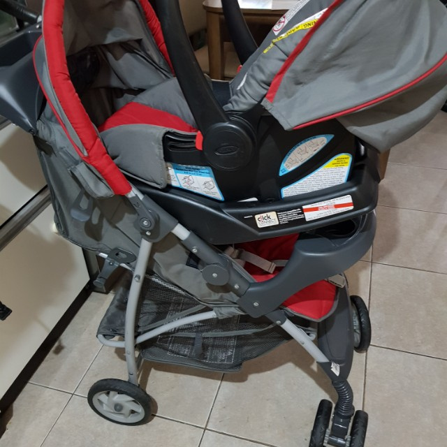 Graco Stroller And Car Seat Babies Kids Strollers Bags Carriers On Carousell