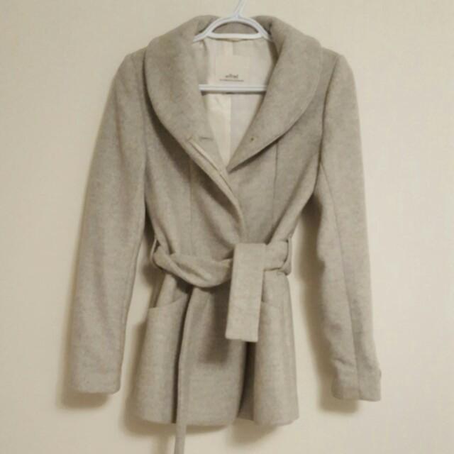 Grey Aritzia Wilfred Free Coat   Size: XXS