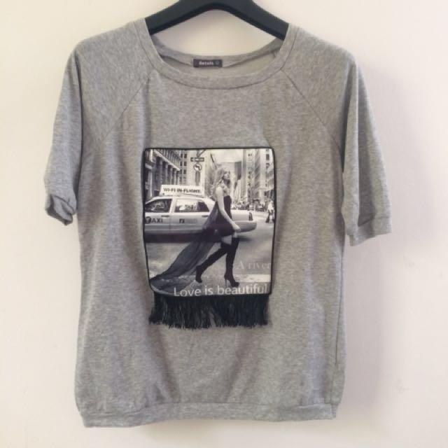 Grey Fring T-Shirt