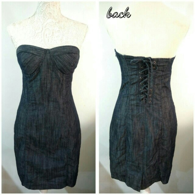 *Guess* Soft Denim Dress