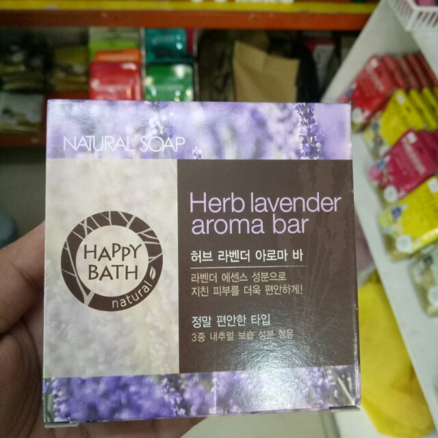 Happy Bar Herb Lavander Aroma Bar