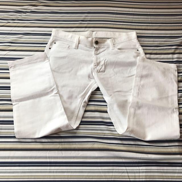 H&M White Pants