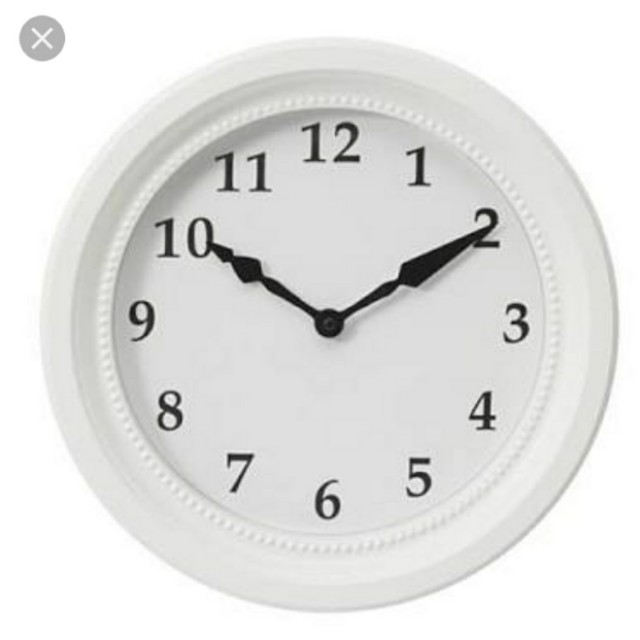 Ikea Sondrum Wall clock