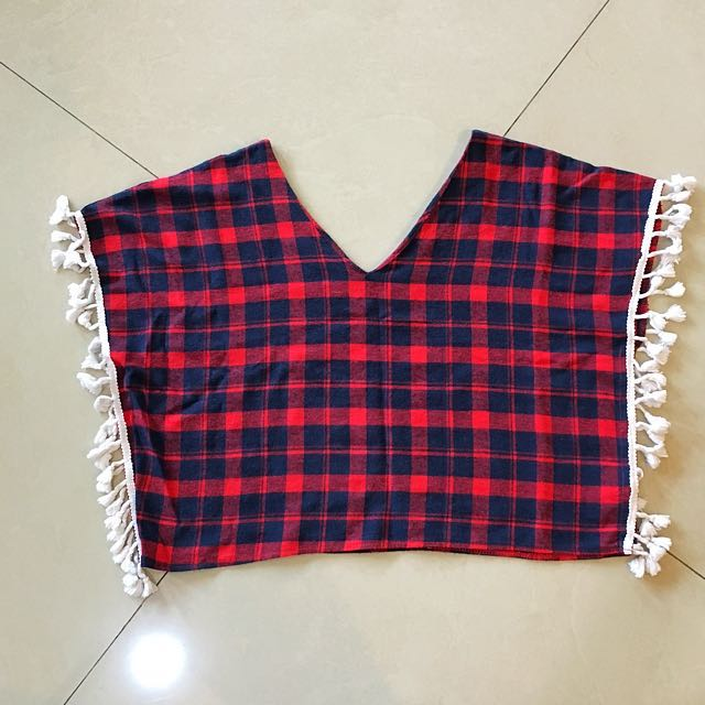 Indian flanel top