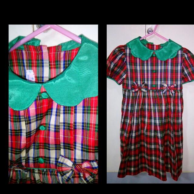 Ines Moda Infantil Christmas Dress
