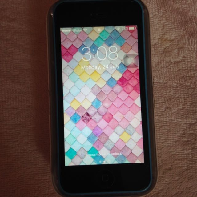 Iphone5c blue