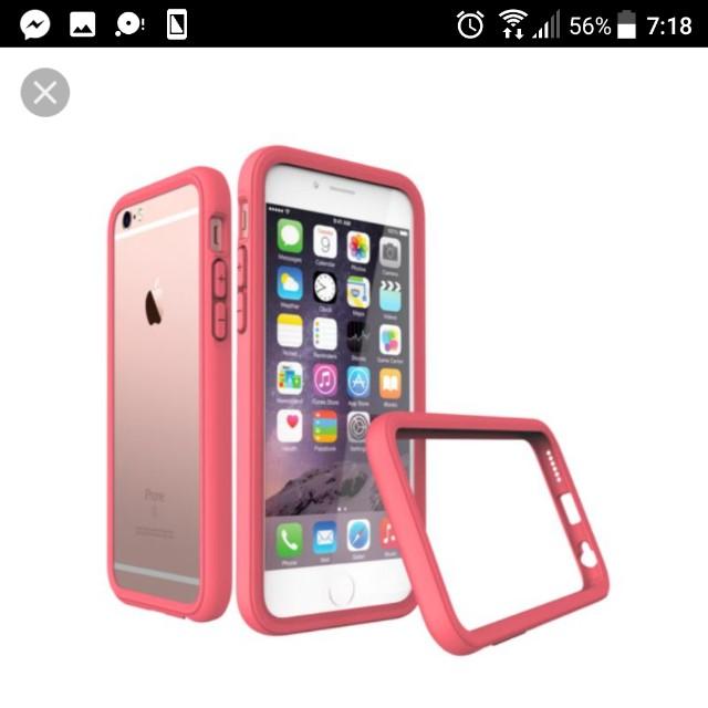 IPhone6 6s 全新 犀牛盾 山茶紅